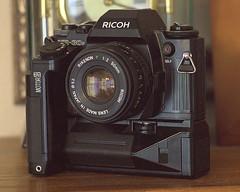 Ricoh KR-30sp with Motor 3 (nrparsons) Tags: smcpentaxm85mmf2 ricoh kr30sp motor3 winder rikenon program