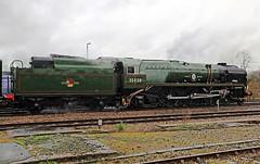 Feb 15 2020 35028 1Z82 princes risborough (jon L1049H) Tags: steamengine 35028 clan line