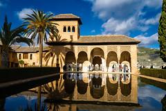 Generalife Gardens, Alhambra, Granada, Spain (JN Singh) Tags: generalife alhambra moor islamic architecture worldheritage unsescoworldheritage refelction spain granada andalucia leica leicaq2