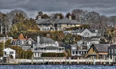 Keeping up with the Joneses (Jon Scherff) Tags: houses homes beautifulhomes neighborhood watchhillri rhodeisland