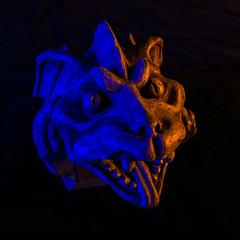 Gargoyle_DSC0484 (GmanViz) Tags: gmanviz color sonya6000 sculpture gargoyle strobist