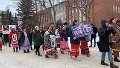U of A Walk for MMIWG 2020 (livingsanctuary) Tags: mmiwg women indigenous edmonton yeg yegphotographer photojournalism missingandmurderedindigenouswomen universityofalberta