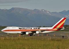 N706CK Boeing 747-4B5F Kalitta Air (Keith B Pics) Tags: alaska keithbpics anc panc cargo freighter 747 boeing kalitta aia n706ck n637bc hl7467