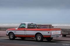 Chevrolet (Jean Marie Boulogne) Tags: cars car voiture vintage chevrolet pickup truck trucks voitures automobile 4x4 motors generalmotors beach