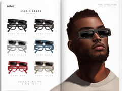 XESS Shades (Anakin Tesla / SORGO) Tags: sl second life shades sunglesses event mancave optic sorgo eyewear glasses secondlife fashion