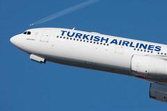 Airbus A330-300 Turkish Airlines TC-JNK MSN 1172 (Guillaume Besnard Aviation Photography) Tags: lebl bcn barcelona barcelonaairport barcelonaaeroport barcelonaaeropuerto barcelonaelprat joseptarradellasairport canonef500f4lisusm canoneos1dsmarkiii plane planespotting airplane airbusa330300 turkishairlines tcjnk msn1172 cn1172 airbusa330 atlasair boeing747