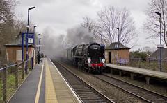 MN no.35028 'Clan Line' (alts1985) Tags: mn no35028 clan line main steam train uk railtours valentines pullman denham golf club 150220 storm dennis