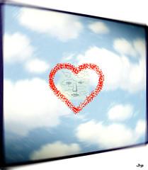 Ciel (1952) (jeanraoulb) Tags: artsmagrittepeinture arts magritte peinture
