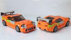 Lego Fast and Furious Toyota Supra (hachiroku24) Tags: lego toyota supra fast furious moc car