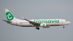 Transavia B738, F-HTVC, TLV (LLBG Spotter) Tags: aircraft transavia tlv airline fhtvc b737 llbg