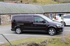 Photo of VW Caddy Maxi Van GL64OTA Museum of Lead Mining Wanlockhead Dumfries and Galloway Scotland
