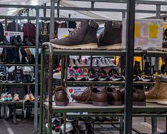 Schoenen - Shoes (naturum) Tags: amsterdam dappermarkt dapperstraat februari february geo:lat=5236328584 geo:lon=492708181 geotagged holland nederland netherlands saturdayselfchallenge schoenen shoes ssc winter