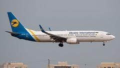 Ukraine International Airlines B738, UR-PSP, TLV (LLBG Spotter) Tags: urpsp ukraineinternationalairlines tlv aircraft airline b737 llbg