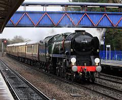 Feb 15 2020 35029 1Z82 princes risborough (jon L1049H) Tags: train steamengine clan line 35028