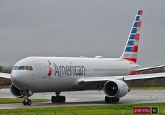 N388AA Boeing 767-300 of American Airlines (SteveDHall) Tags: aircraft airport aviation airfield aerodrome aeroplane airplane airliner airliners boeing b767 b763 b767300 767 767300 763 boeing767 boeing767300 n388aa american americanairlines manchester manchesterairport ringway 2019 man mcr egcc aa aal