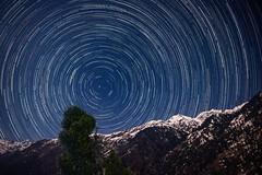 Trailing in Moonlight (arnab.debnath.nipun) Tags: nightscape mountain moonlight apex nightphotography astrophotography startrail star trekking traveling nightsky