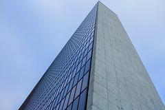 Arne Jacobsen building i Hamburg (Elbmaedchen) Tags: architektur architecture arnejacobsen citynord bürogebäude hochhaus officebuilding hamburg pattern strukturen fassade glasfassade vattenfall lines linien muster betonklotz denkmalschutz