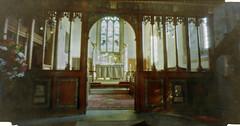 Pinhole - Sparshalt Church (neilalderney123) Tags: pinhole lensless nolens 3dprinted diy film 35mm church sparsholt hampshire winchester
