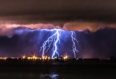 Nightstorm (Markus Branse) Tags: nightstorm seenfromstokeshillwharf darwin northernterritory australia seen from stokes hill wharf northern territory tags hinzufügen gewitter nooamah notthern austalien austral australie aussie oz thunder thunderstorm storm lightning blitze bolt unwetter wetter weer meteo weather wolken cloud clouds wolke outback hell nacht langzeitbelichtung nite night nuit himmel wasser