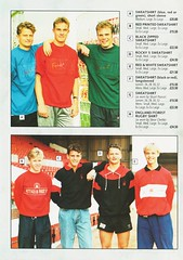 Nottingham Forest - Souvenir Shop Catalogue - 1991/92 - Page 6 (The Sky Strikers) Tags: nottingham forest official sports souvenir shop catalogue the city ground 1991 1992