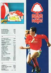 Nottingham Forest - Souvenir Shop Catalogue - 1991/92 - Page 11 (The Sky Strikers) Tags: nottingham forest official sports souvenir shop catalogue the city ground 1991 1992