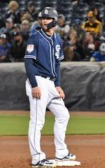 Padres adjust (jkstrapme 2) Tags: baseball jock cup bulge crotch jockstrap adjust