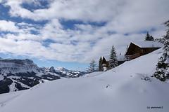 Winter auf der Marbachegg (phototom12) Tags: winter häuser berge schnee himmel wolken marbach marbachegg luzern