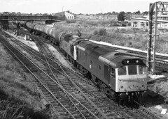 Oil train Chester 1982. (flashbangmilly) Tags: cl25 chester oil 25289 25254 1982