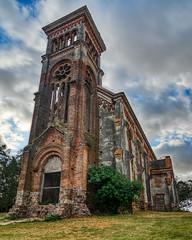 Iglesia Piria HDR (guille_87) Tags: hdr d7200 tokina 1420 f2 iglesia piriapolis hdrphoto aurorahdr abandonada uruguay crurch antique