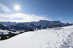 Hohgant im Sonnenschein (phototom12) Tags: winter schnee berge berg hohgant sonne marbach marbachegg