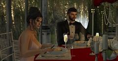 Valentine Dinner ... (Stevie Rammidge) Tags: soulmates ridediechick twohearts stevieivory love romance valentinesday