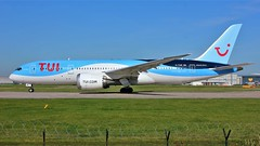 G-TUIE (AnDyMHoLdEn) Tags: thomson tui 787 dreamliner egcc airport manchester manchesterairport 23l