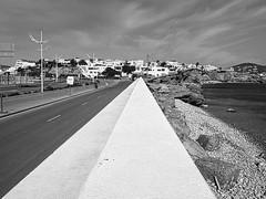 S'Illa Plana (jrblanco53) Tags: ibiza botafoc sea sky bnw blackandwhite contrast monochrome
