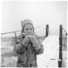 Scan-200215-0010 (Oleg Green (lost)) Tags: tlr seagull4a103 fomapan200 120film kid snow november countryside weekend
