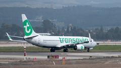 Transavia B738, PH-HXC, TLV (LLBG Spotter) Tags: phhxc aircraft tlv transavia airline b737 llbg