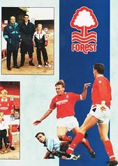 Nottingham Forest - Souvenir Shop Catalogue - 1991/92 - Page 3 (The Sky Strikers) Tags: nottingham forest official sports souvenir shop catalogue the city ground 1991 1992