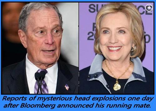 Hillaryand Mike Bloomberg
