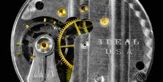 Ideal USA (KellarW) Tags: mechanical movements steampunk art metallic time gold engineeringmarvel idealwatch idealusa tictoc metal engineering gears ideal pocketwatch etching usa mechanicalmarvel ticktock style craftsmanship antique silver madeintheusa oldschool