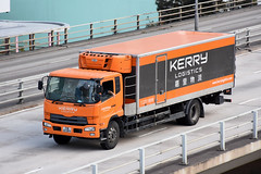 Hong Kong - Kerry Logistics TR8289 (Howard_Pulling) Tags: hk hongkong lorry truck transport logistics