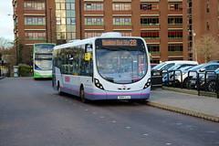 63166 (SN64CJJ) 10-01-2020 rte 28 CBS.1 (routemaster2217) Tags: southendonsea transport bus lowfloorbus singledecker saloon firstessex firsteastengland wrightbusintegral wrightstreetlite 63166 sn64cjj