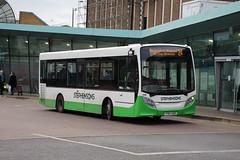 436 (YY67USD) 10-01-2020 rte 24 CBS.1 (routemaster2217) Tags: southendonsea transport bus lowfloorbus saloon singledecker travel stephensonsofessex alexanderdennis adl adlenviro200 e200 436 yy67usd