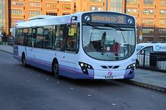 69516 (BJ11ECE) 10-01-2020 rte 28 CBS.1 (routemaster2217) Tags: southendonsea bus transport lowfloorbus singledecker saloon firstessex firsteastengland travel volvob7rle wrighteclipse2 wrightbus 69516 bj11ece