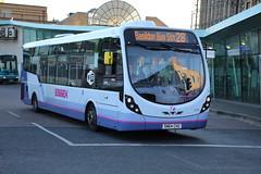 63163 (SN64CHZ) 10-01-2020 rte 28 CBS.1 (routemaster2217) Tags: southendonsea transport bus lowfloorbus singledecker saloon firstessex firsteastengland wrightbusintegral wrightstreetlite 63163 sn64chz