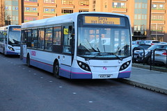 44598 (KX57BWF) 10-01-2020 NIS CBS.1 (routemaster2217) Tags: southendonsea transport bus lowfloorbus saloon singledecker travel firstessex firsteastengland alexanderdennis adl enviro200 e200 adlenviro200 44598 kx57bwf