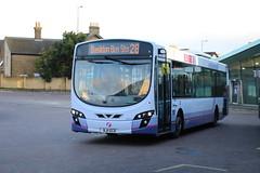 69517 (BJ11ECD) 10-01-2020 rte 28 CBS.1 (routemaster2217) Tags: southendonsea bus transport lowfloorbus singledecker saloon firstessex firsteastengland travel volvob7rle wrighteclipse2 wrightbus 69517 bj11ecd