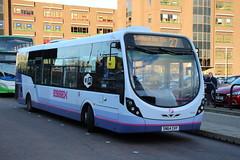 63162 (SN64CHY) 10-01-2020 rte 27 CBS.1 (routemaster2217) Tags: southendonsea transport bus lowfloorbus singledecker saloon firstessex firsteastengland wrightbusintegral wrightstreetlite 63162 sn64chy