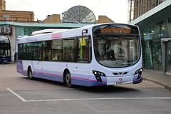 69518 (BJ11ECT) 10-01-2020 rte 28 CBS.1 (routemaster2217) Tags: southendonsea bus transport lowfloorbus singledecker saloon firstessex firsteastengland travel volvob7rle wrighteclipse2 wrightbus 69518 bj11ect