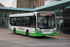 436 (YY67USD) 10-01-2020 rte 24 CBS.2 (routemaster2217) Tags: southendonsea transport bus lowfloorbus saloon singledecker travel stephensonsofessex alexanderdennis adl adlenviro200 e200 436 yy67usd