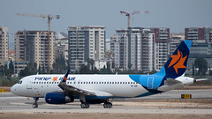 Israir A320, 4X-ABI, TLV (LLBG Spotter) Tags: israir aircraft tlv a320 airline 4xabi llbg