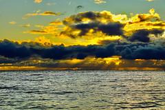 Clouds over the sea (prokhorov.victor) Tags: море природа вечер закат небо облака вода волны
